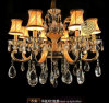 Crystal Chandelier with Zinc Alloy and 8 LED Lights and Swarovski Crystal Pendent (ST-230-8)