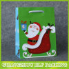 Custom Xmas Paper Gift Bag Shopping Packaging