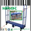 Six Wheel Folding Warehouse Trolley