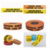 Underground Aluminium Foil Magnetic Detectable Warning Tape