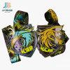 Custom Deboss Animal Logo Zinc Alloy Metal Medallions with Soft Enamel
