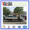 5ton Mini Tipper Truck with 3.5ton Crane