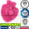 Heart Shaped Plush Fur Hot Water Bottle Cover