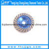 Single Row Colored Concrete Grinding Diamond Cup Wheel