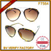 F7564 New Designed Plastic Frames with Metal Parts Fashion Sunglasses