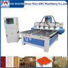 4 Spindles CNC Router for 3D Stereoscopic Relief CNC Engraving