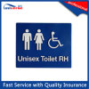 Unisex Toilet Rh/Lh Braille Toilet Sign