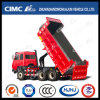 FAW/JAC/Foton/HOWO/Shacman/Beiben/Iveco 6*4 F-Type Lifting Tipping Truck with Competitive Price