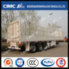 Hot Cimc Huajun Stake-Cargo Semi Trailer with Competitive Price