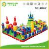 Childern Inflatable Toys Castle Slide Fun City for Amusement Park