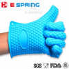 Heart Shaped Design Heat Resistant Oven Mitts Silicone Rubber Gloves