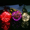 G95 G125 RGB Decoration Copper Wire LED String Light Bulb