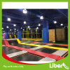 Customised Trampoline Park with Climbing Wall
