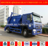 Sinotruk 4X2 Skip Loader Truck, Garbage Truck and Refuse Truck with 12 M3 Box