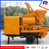 High Quality Trailer Concrete Mixer Pump with Twin-Shaft Mixer