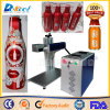 Mini Caco Cola Can Marking/Engraving Machine Fiber Laser