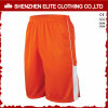 Hot Selling Blank Polyester Basketball Shorts Orange (ELTBSI-14)