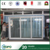 PVC Glass Sliding Door Tempered Glass Door for Homes