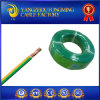PVC Insulated Yellow Green Double Color Electrical Wire