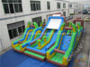 Giant Aqua Extreme Inflatable Obstacle Course for Children