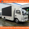 4X2 P6 Mobile Liftable LED Screen Advertising Truck for Sale