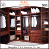 Wardrobe Design with Wall Mirror Side-Mounted