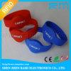 Custom Event ISO14443A Hf NFC RFID Polyester/Fabric/Woven Wristband