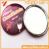 Hot Sell Customizable Exquisite Design Tin Makeup Mirrors