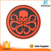 Custom 3D Red Octopus PVC Rubber Patch Factory
