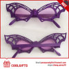 New Customized Sunglasses with Purple Butterfly Shape for Christmas Gift