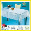 Printed PVC Transparent /Clear and Embossed Tablecloth