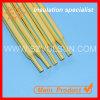 3: 1dual Color Yellow Green Stripped Heat Shrinkable Tube (DBRS-125G (2X) (3X) YG)