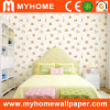 Kids Wallpaper with Cartoon House Patterned
