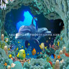 Underwater World Wallpaper Mural Dolphins Style Wall