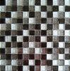 Gold Foil Crystal Mosaic White Mixed Black Color (23FJ04)