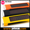 Mobile Cell Phone 800mAh Solar Power Bank Panel Charger for Urgent Usage 3 LED Lamps