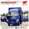 Light Duty 6000mm Length 108HP Box Van Cargo Truck
