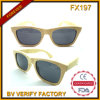 Fx197 Handmade High Quality Nature Bamboo Sunglasses