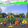Large Colorful Outdoor Playground Set with Clear Roof Shed (HK-50043)