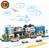 Kids Plastic Mini Street Blocks 781PCS Toy