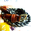 Wholesale Alloy Buckle Casual Belt (HJ0062)