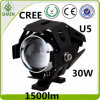 U5 LED Motorcycle Lighting Waterproof CREE 30W U5