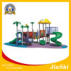 Animal World Series Children Outdoor Playground with Plastic Slide and Amusement Park GS TUV (DW-003)