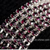 3mm Roll Rhinestone Cup Chain for Shoe Ornament (TCS- 3mm amethyst)