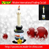 Tablet Decoration with LED Light Snowman/Candle Lamp for Home Decor