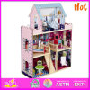 2014 New Wooden Play House, Popular Wooden Play House, Hot Sale Wooden Play House W06A037