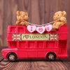 Souvenir Teddy Bear Money Box, Polyresin Money Pot