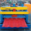 PLC Control Glazed Tile Cold Roll Forming Machine