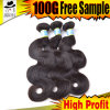 Natural Human Hair of Brazilian Virgin Hair Extension