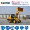 Eougem Compact Wheel Loader with 1.5cbm Bucket 2.8ton Rated Loading